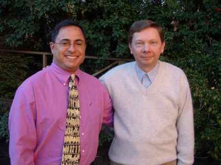 Ray Hemachandra and Eckhart Tolle