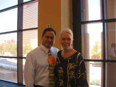 Ray Hemachandra and Louise Hay, circa 2004