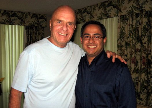 Wayne Dyer and Ray Hemachandra (a few years after this interview)