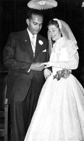 Neal Hemachandra marries Rita Warmbrand