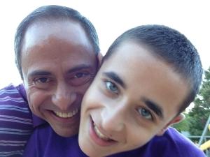 With Nicholas Hemachandra in October 2013