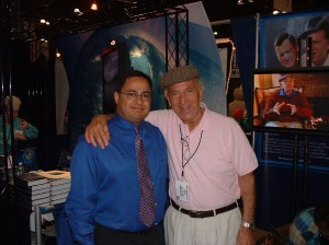 Me with Jack Klugman around this time. Because I can't run this photo enough.