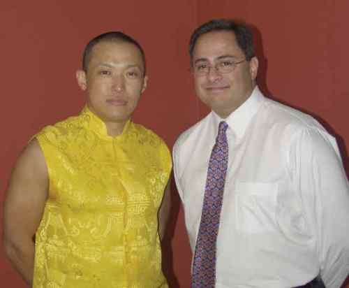 Sakyong Mipham and Ray Hemachandra in Vancouver, British Columbia