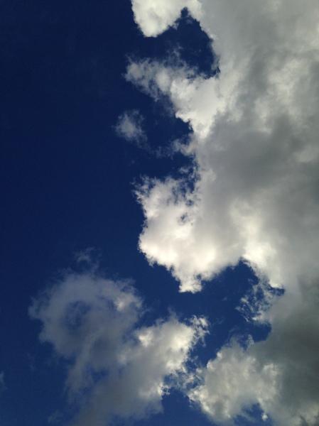 Clouds / photo by Ray Hemachandra